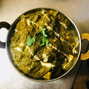Aloo Palak (Potatoes & Spinach)