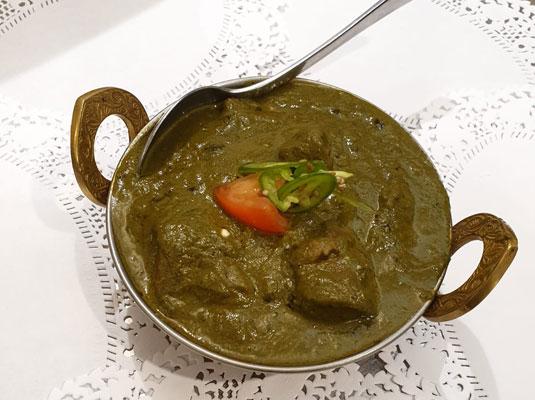 Saag (Chicken/lamb/Beef)