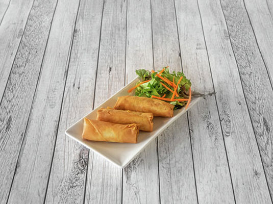 Vegetable Spring Roll (3 pcs)