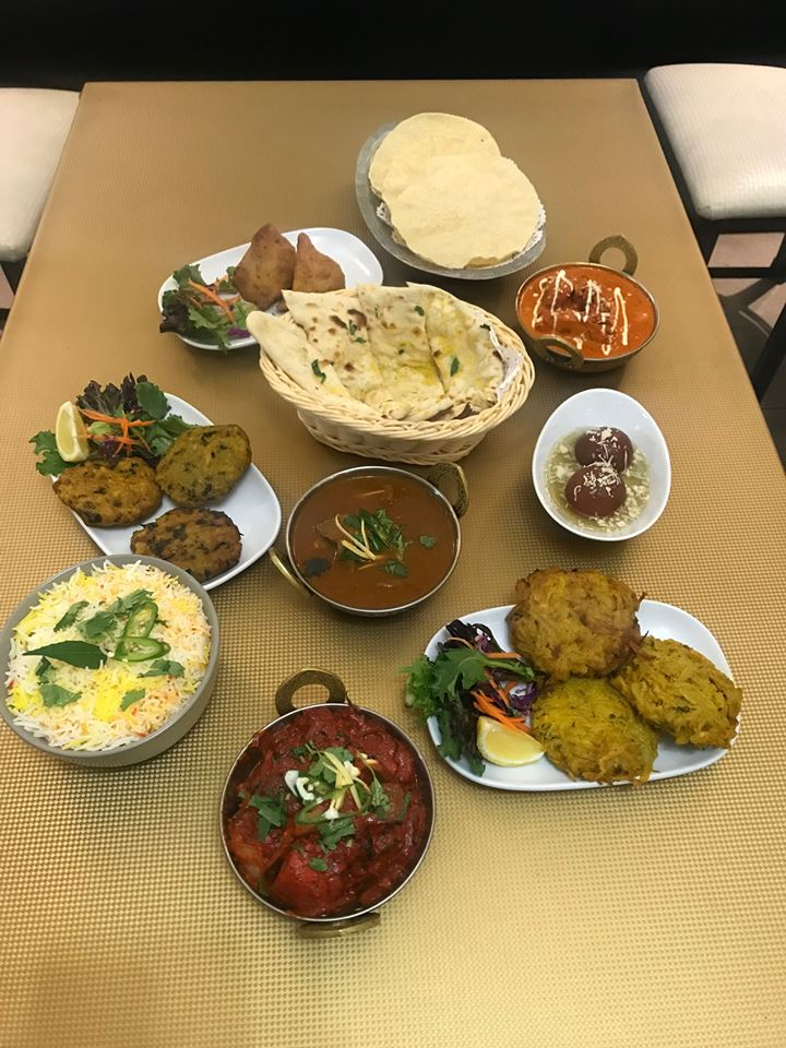 Sylvania Indian Banquets for 4 (Mininmum order qty -4)