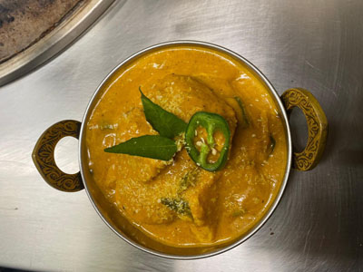 Panjim fish curry