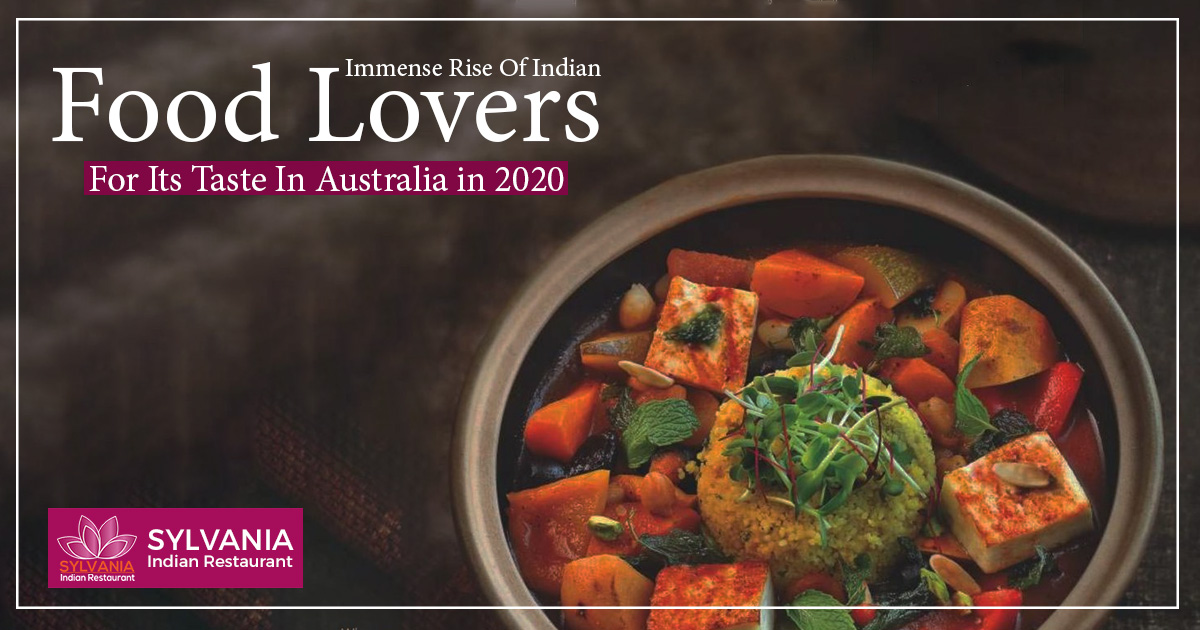 Immense rise of Indian food lovers for its taste in Australia in 2020