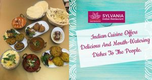 Indian cuisine offers delicious and mouth-watering dishes to the people