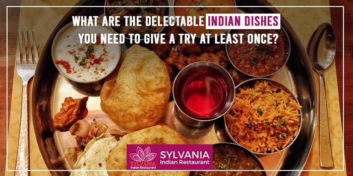 What are the delectable Indian dishes you need to give a try at least once