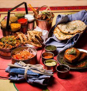 indian platter