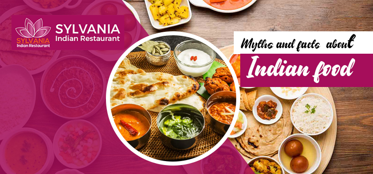 myths and facts about Indian food