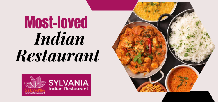 How did Sylvania Indian Restaurant become the top-rated dine-in place?